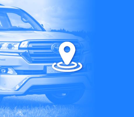 Автомобиль Toyota Land Cruiser был спасен Benish GPS от угона в Харькове
