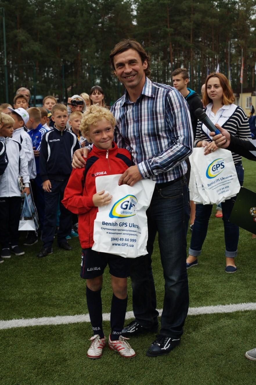 Benish GPS — партнер міжнародного дитячого кубка Владислава Ващука